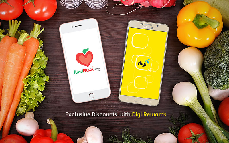 Exclusive KindMeal discounts with Digi Rewards