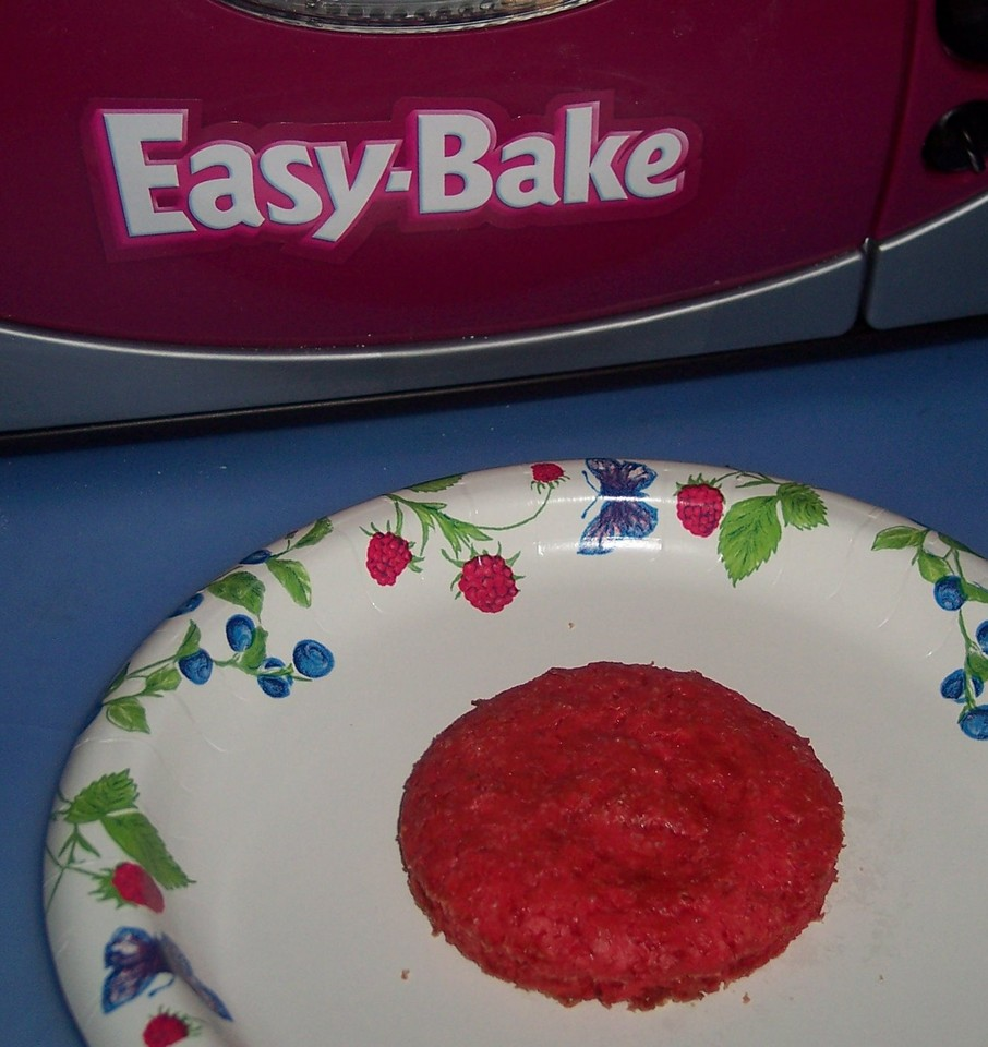 Easy Bake Oven Barbie's Pretty Pink Cake Recipes