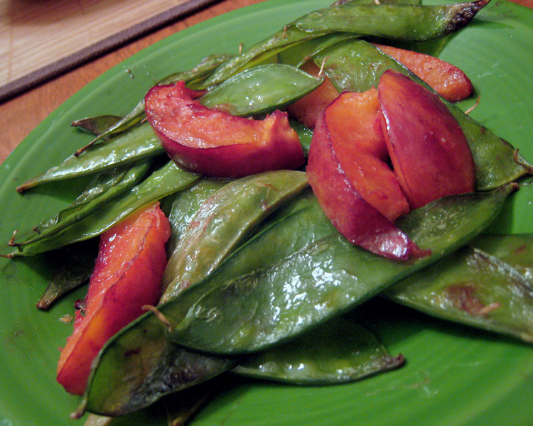 Nectarine, Snow Pea Stir-Fry Recipes