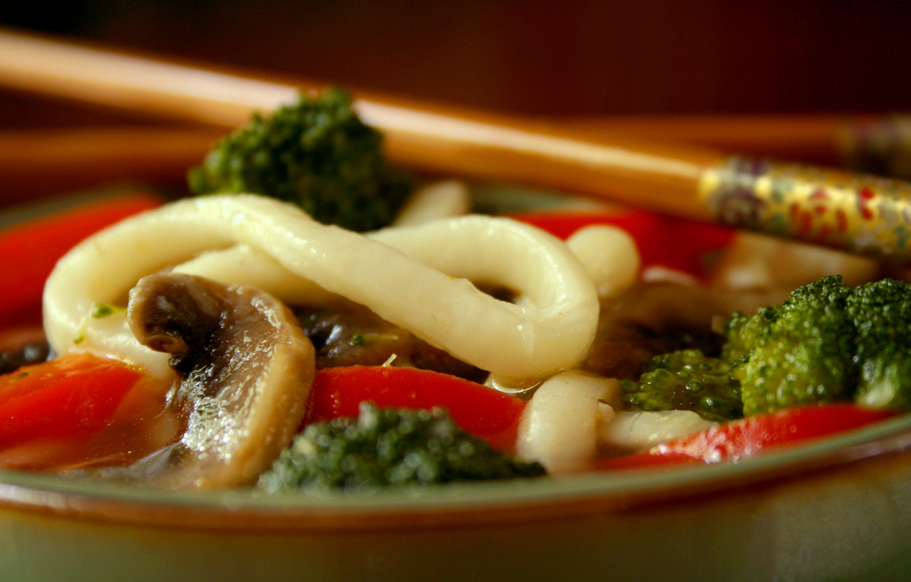 Meal In A Bowl - Noodle Soup - For 1 Double For 2 (Vegetaria.. Recipes